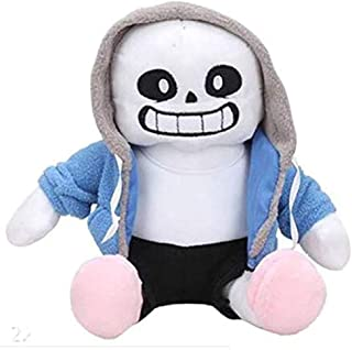"""Undertale Sans Papyrus Plush Stuffed Doll 12"""" Toy Hugger Game Cosplay Cushion Gift Pillow (Blue)"""