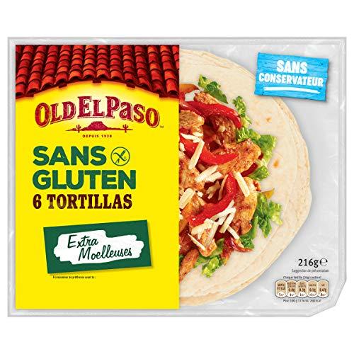 Old El Paso 6 tortillas sans Gluten 216 g