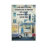 Heiwu Notting Hill Filmkunst-Poster, dekoratives Gemälde,