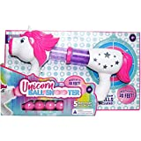 Misco Toys Kid's Unicorn Soft Foam Ball Shooter with Easy Pump Action and 5 Blaster Balls, Ages 4+
