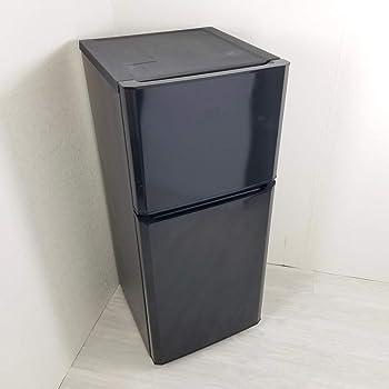 ハイアール 121L 2ドア冷凍冷蔵庫 ブラック JR-N121A-K