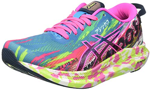 Asics Gel-Noosa Tri 13, Road Running Shoe Mujer, Digital Aqua/Hot Pink, 39 EU