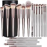 18 Pcs Professional Makeup Brush Sets Fan...