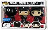 Set 3 Figuras Pop! Star Wars Gunner Officer & Trooper Exclusive...