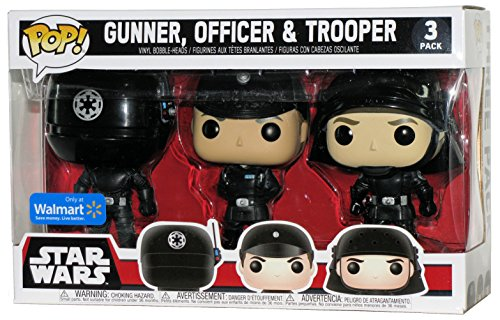 Set 3 Figuras Pop! Star Wars Gunner Officer & Trooper Exclusive