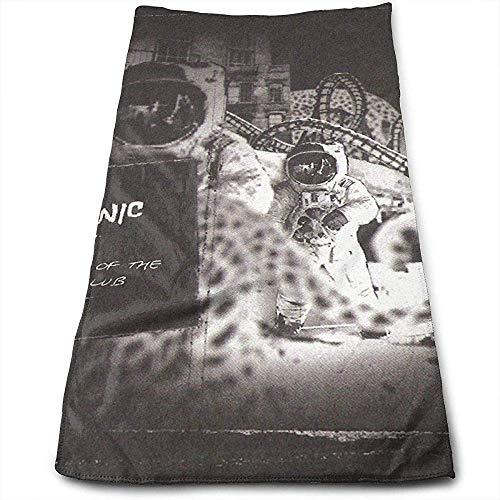 utong Hooverphonic DIY Printing Fabric Travel Toalla de Playa Toalla de baño 80x130cm / 32x52inch Poliéster de Secado rápido Blanco