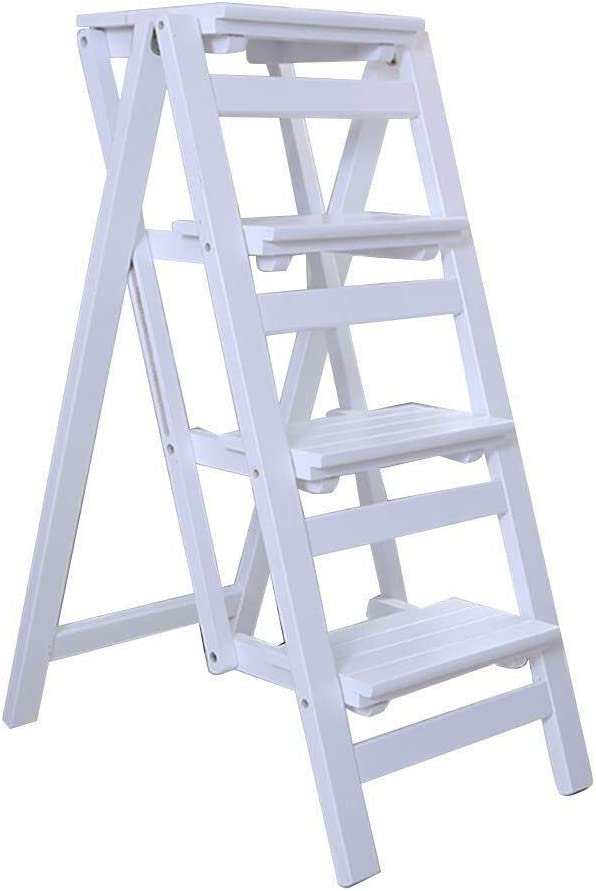 HTDZDX Folding Stair Step Ladder Portable Outstanding Stairs Stool C Dining Max 90% OFF