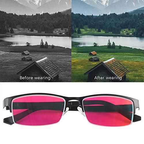 Gafas para daltonismo con Montura, Gafas con Colores débiles, Longitudes de Onda específicas, luz para miopía para daltonismo