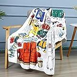 Friends TV Show Blanket Friends Fleece Throw Blanket Super Soft Cozy Blanket for Bed Sofa 60'x 50'