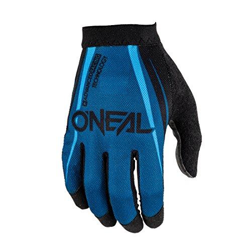 O'Neal AMX Handschuhe Blocker Schwarz Blau MX MTB DH Motocross Enduro Offroad Quad BMX FR, 1101-0, Größe S