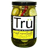 Tru Pickles 4 Piece Bread and Butter Pickles, 16 Ounce