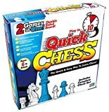 LEARN CHESS WITHOUT THE STRESS -- Learning chess should be fun. That's why Quick Chess uses 8 simple, fun games to teach kids aged 6+ every move in Chess. Just follow the numbered activities! FLIP THE BOARD FOR TRADITIONAL CHESS -- Once beginners mak...
