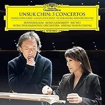 Unsuk Chin: 3 Concertos Piano Cto; Cello Cto; su for sheng and orches