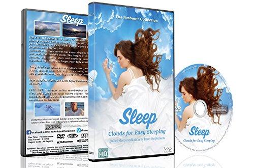DVD de sueño - Nubes de sueño para dormir cómodamente con Jason Stephenson Meditaciones habladas para ayudarlo a dormir