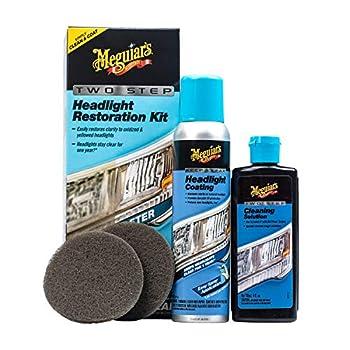 Meguiar s G2970 Two Step Headlight Restoration Kit 4 fl oz 1 Pack