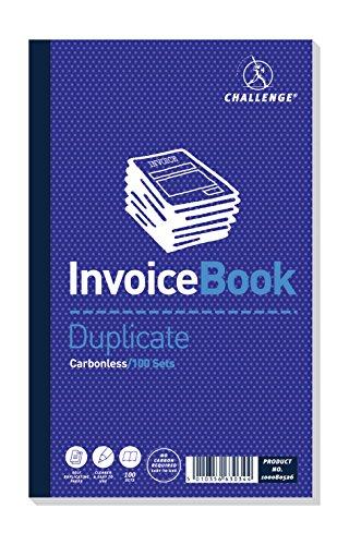 Challenge Duplicate Book - Cuadernos con papel autocopiativo (Paquete de 5)