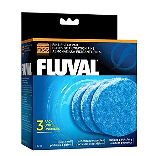 Fluval Filtro Externo Fx6FoamexFino 3Uds