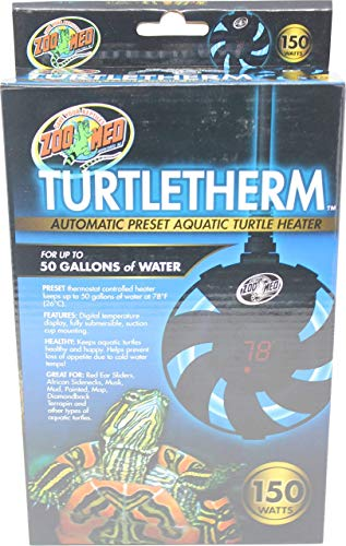 Zoo Med Turtletherm Aquatic Turtle Heater 150W, Assorted, Model:690721