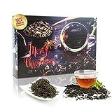 C&T Tee-Adventskalender 2019 mit 24 losen Schwarztees - edle Tee-Sorten à 20 g für je 4 Tassen (1...