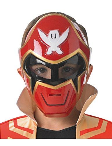 Rubie's-déguisement officiel - Saban - Accessoire Pour Déguisement Masque Dur Power Rangers Super Mega Force- I-36733
