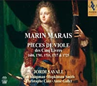 Marin Marais: Pieces for Viol from the Five Books (1686 - 1701 - 1711 - 1717 - 1725) by Ton Koopman (2011-02-08)