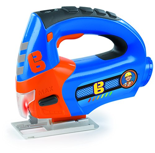 Bob the Builder- Sierra caladora eléctrica (Smoby 360131)
