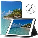 Funda para iPad de 9,7 Pulgadas, Riviera Maya Paradise Beaches Cancún Quintana Slim Stand Hard Back Shell Funda Protectora Inteligente con Reposo automático/activación