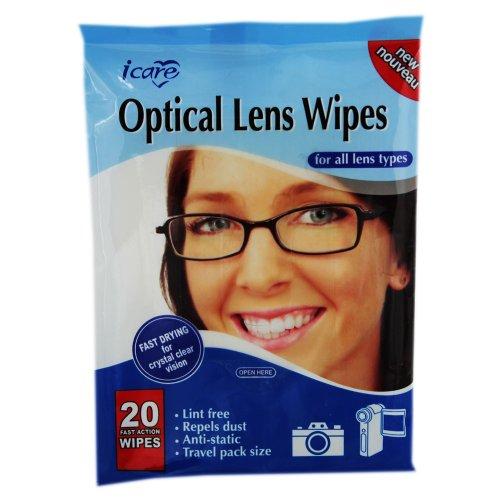 Icare Optische Linse Reinigungstücher von reinigen, 4Stück