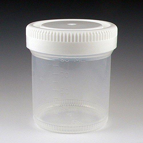 Max 74% OFF Globe Scientific 6525 Tite Brand Cheap Sale Venue Rite Container ml 90 Mouth PP Wide