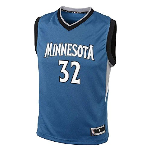 Karl-Anthony Towns Minnesota Timberwolves NBA Youth Blue Road Replica Jersey (Youth Medium 10-12)
