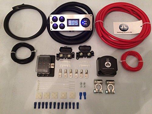 Lek Tek Kit complet de raccords/fixations/panneau de commutation pour Mercedes Benz Vito 140 A 12 V