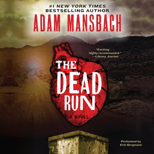 The Dead Run audiobook cover art