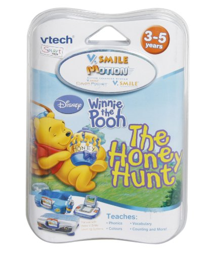 VTech V. Smile Motion Learning Jeu My Friends Tigrou et Winnie l'ourson