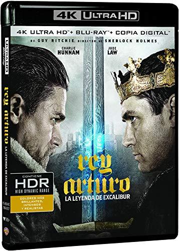 Rey Arturo: La Leyenda De Excalibur 4k Uhd [Blu-ray]