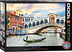 "Finished Puzzle Size: 19. 25"" x 26. 5"" Box size: 10"" x 14"" x 2. 37"" Made in the USA with the highest quality blue board Strong, high quality, easy fit puzzle pieces that won't break"