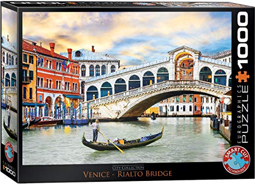 EuroGraphics Venice Rialto Bridge Puzzle (1000 Piece)