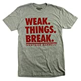 Westside Barbell Camiseta Weak Things Break (mediana)