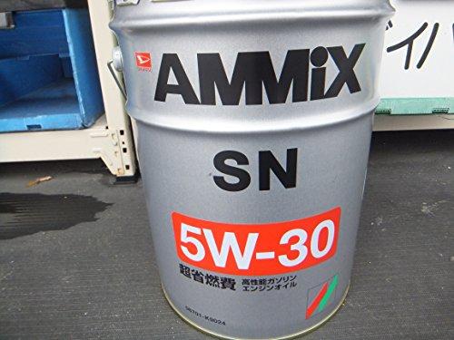 DAIHATSU/ダイハツ純正 エンジンオイル AMMIX/アミックス API:SN SAE:5W-30 20L 純正品番:08701-K9055