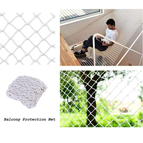 Review Climbing net Rope net Child Safety Net Stairs Balcony Protection Net Kindergarten Decoration ...