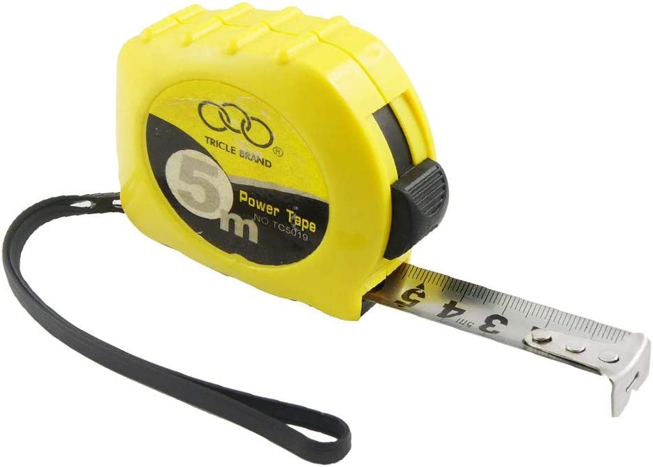 New Lon0167 Yellow 5M Featured New Free Shipping Self Steel Retractable e reliable Price reduction