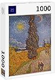 Lais Puzzle Vincent Willem Van Gogh - Camino Rural con cipreses 1000 Piezas