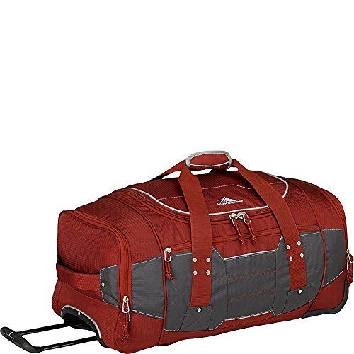 High Sierra Access 2.0 Wheeled Duffel Bag, Brick Red, 26-Inch