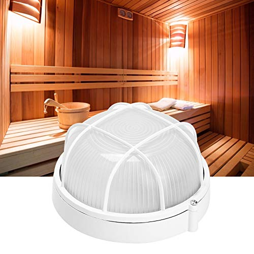 Pangdingk Schulzeit Sauna-Licht, professionelle runde helle explosionssichere Lampe der hohen Temperatur für Badezimmer-Sauna-Dampf-Gebrauch 220V 60W