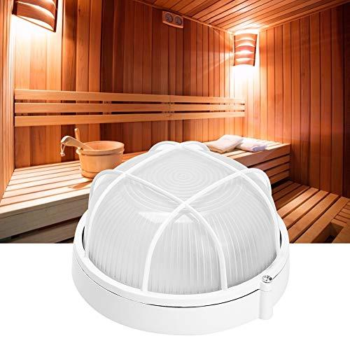 Jacksking Sauna Light, Professionelle Runde Licht Hochtemperatur Explosionsgeschützte Lampe für Badezimmer Sauna Verwenden Sie 220V