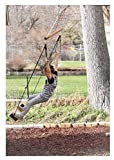 Stone Owl Outdoors SkateSwing 360- Rotates 360 Degrees - Skateboard, Tree, Porch, and playset Swing