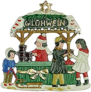 A Bit of Britain Glühwein Stand - Mulled Wine - German Pewter Christmas Tree Ornament