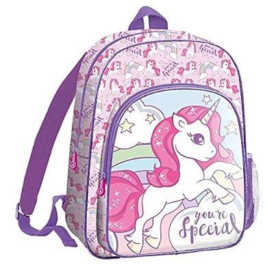 Desconocido Kids 36cm de Unicornios Mochila Tiempo Libre y Sportwear Infantil, Juventud Unisex, Multicolor (Multicolor), 36 cm