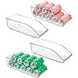 mDesign 4er-Set Dosenhalter für Kühlschrank und Küchenschrank – ideale...