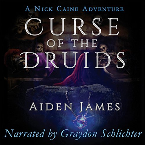 Curse of the Druids audiobook cover art
