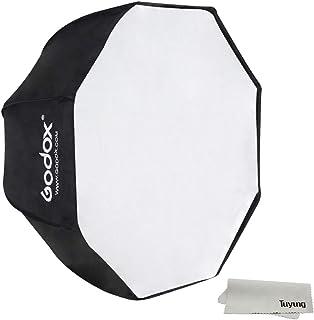 مظلة Godox محمولة 95 سم / 37.5 بوصة عاكسة سوفت بوكس مع حقيبة حمل لضوء السرعة